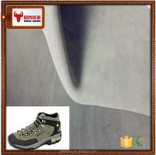 cow leather skin in Fujian province nubuck leather for safety shoes
