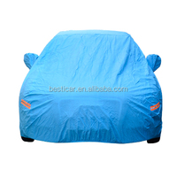 Car Sun Rain Snow Protection Universal Fit for Sedan Night Reflectable Auto Cover