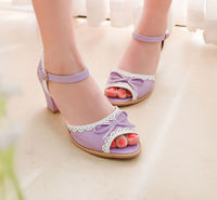 D21695Q 2014 NEW DESIGNS SWEET WOME'S SANDALS,KITTEN HEELS WOMEN'S SANDALS