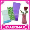 Fashion Gift foldable flat plastic vase