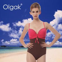 Olgak 2015 , o mais recente da mulher sexy no maiô biquíni plus size de uma peça