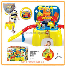 China toys for child electric slot toys with plane and car