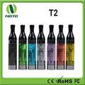 T2 apropriado Clearomizer de da bateria do EGO do atomizador 2.4ml do EGO/cigarro do atomizador E