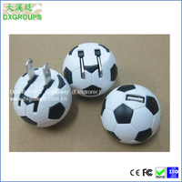 Football Shape US AC Plug USB Universal Portable Cell Phone Charger for Cell Phones Tablet Small Arc Style ( 5V/1000mA )