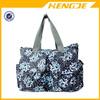 2015 Damai Floral Designer durable waterproof nylon Diaper Tote Bags