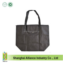 Foldable Zippered Totes Grocery Shopping Bags Bag Black Royal Blue