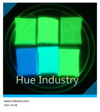 Shanghai HUE best selling products glow in the dark powder from Cchina supplier