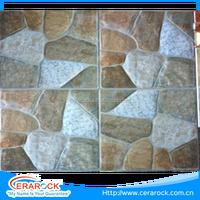 High quality various shapes 300x300 ceramic floor tile decoration for garden