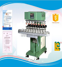 LC-SPM8-150/24T cost-effective semi-automatic sealed cup 8-Colour toys&pen&pencil&ball printing machine