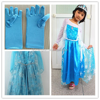 2015 Instyles China cheap TV Movies 100-140 size Kids Princess Costumes