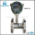lwgy turbina de líquido medidor de flujo inteligente con cabecera