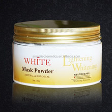 High quality new products face masks designs for black skin whitening superior hydrating powder mask