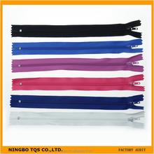 Wholesale High Quality Garment Accessories Close-end Custom Nylon Zipper
