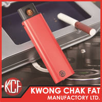 KCF-240 latest design usb rechargeable electronic cigarette plastic lighter