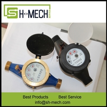 15mm precision brass multi jet dry dial cold water meters