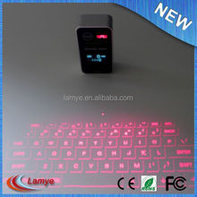 laser projection mini heated keyboard