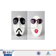 Creative design face model acrylic heads up display glasses