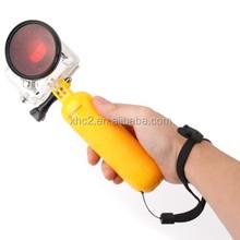 Bobber Floating Hand Grip selfie Stick for Go pro HERO4 / 3+ / 3 / 2