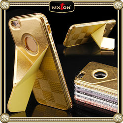 Personalized Diamond Pu Leather Case For Iphone 5S