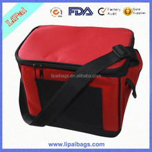 Fashion Cheap Polyester Insulated Lunch Cooler Bag for Adult Safe Promotion Cooler Bag