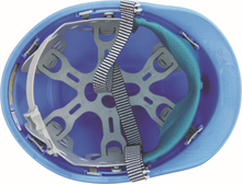 blue color T type custom safety helmet ABS type safety helmet price engineering safety helmet