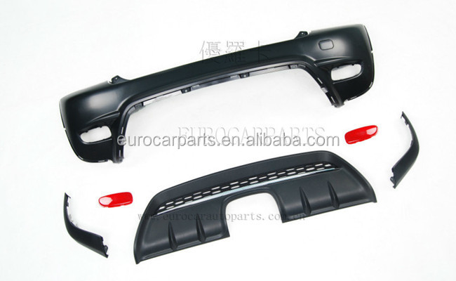 Mini body kits PP body kit para MINI COOPER R56 para estilo Mini R56 JCW R56 S jogos do corpo PP material
