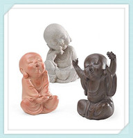 Resin Baby Buddha Sculptures