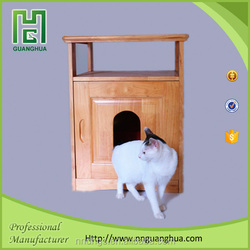 decorative cat furniture wooden pet house made in china