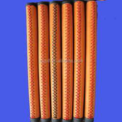 hand stitching cowhide leather golf putter grips