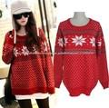 El puente rojo mujeres suéter de Navidad al por mayor