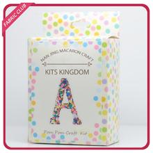 Packs of Assorted Fluffy Craft Kit Pom Poms Party Item