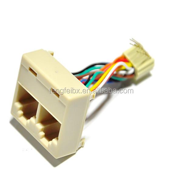 Rj45 3 Way Network Cable Splitter Rj45 Female To 2 Rj45 Female Lan ...