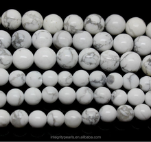 8mm Natural white turquoise beads in bulk loose turquoise stones