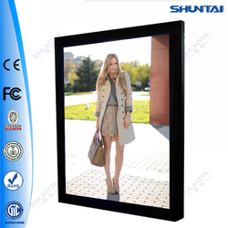 slim LED A3 acrylic panel picture frame with magnet