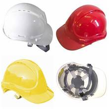 CE EN397/ANSI Z87.1 HDPE/ABS cheap industry/electric safety helmet for construction,hard safety hat factory