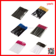 Yashi Fashion Disposable different black pink color mascara wand brush