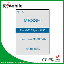 High Capacity Rechargeable Li-ion Note Edge N9150 GALAXY N915K Battery for Samsung Battery Mobile Phone with High Quality