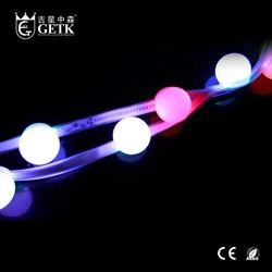 GETK RGB 5050 48leds 70W pointolite led strip light led rgb dali dimming driver