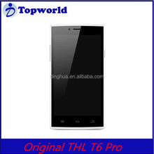 Thl T6 Pro 1GB 8GB MTK6592 1.4GHz HD IPS display 5 point mutitouch1900mAh Black Write color