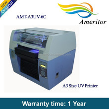 a3+ size 8 colors high speed uv pen and pencil printing machine