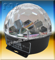 2015 dj colorful ball Disco Ball,Night Club magic ball lighting,led magic ball light