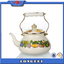 2015 new products unique decorative Russian enamel tea kettle