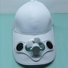 solar power fan cap battery powered fan cap cap with fan