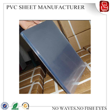 rigid pvc plastic sheet/semi-rigid plastic pvc sheet rolls/3mm thick transparent rigid pvc sheet
