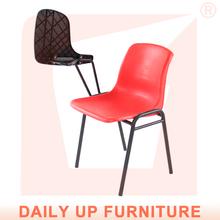 De depósito de garantía- estudio de acero silla de tubo con la escritura de la escuela esterasdecoches preescolar sillas