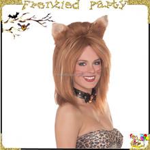 Ginger Fierce Feline Fantasy Cosplay Wig FGW-0036