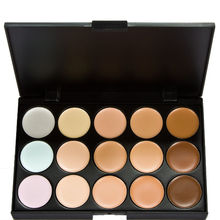 New Professional 15 Color Make Up Cream Camouflage Concealer Palette Eyeshadow