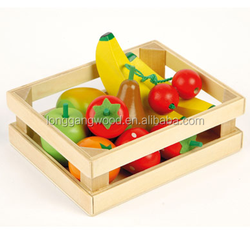 Made in china high quality wholesale customized luxury christmas decorative fruit/vegetable packaging wooden storage Gift Box