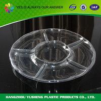 Custom shape plastic plastic fruit tray