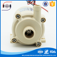 Micro DC pump 12 volt popular mini cheap submersible water pump for clean water
